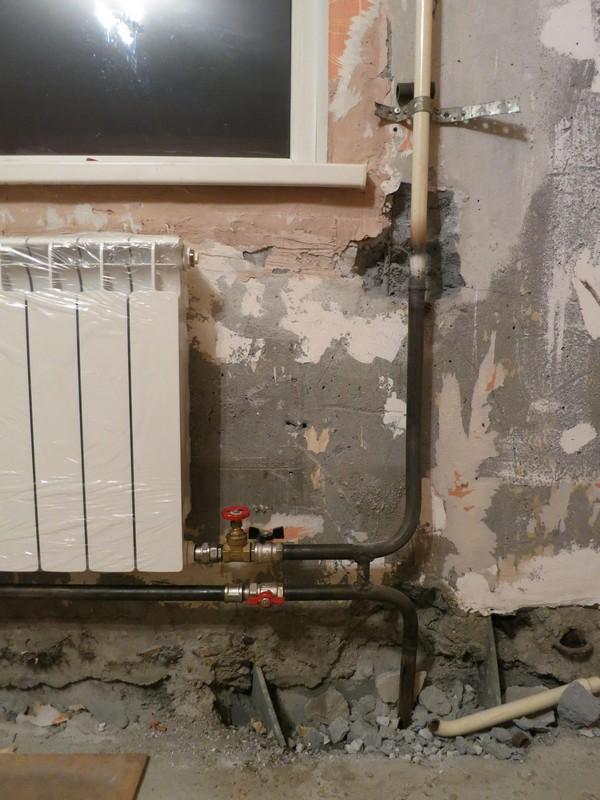 Схемы подключения радиаторов отопления на сварку