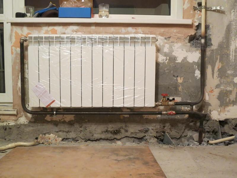 Диагональная схема подключения радиаторов отопления