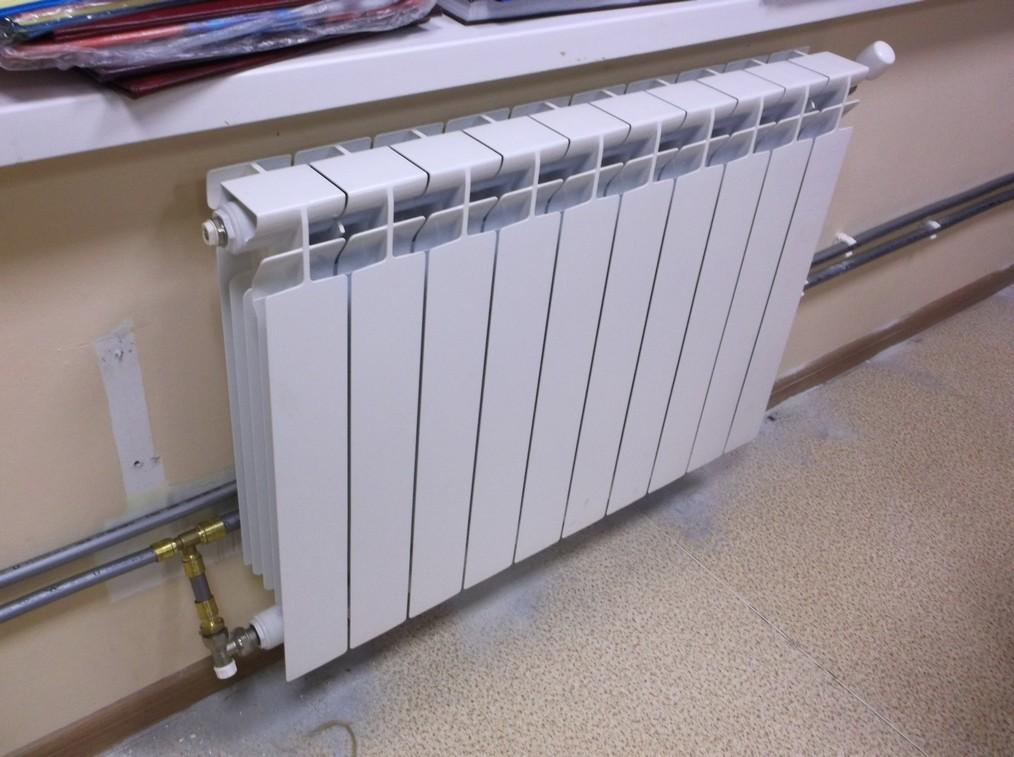 Замена радиаторов отопления в офисе
