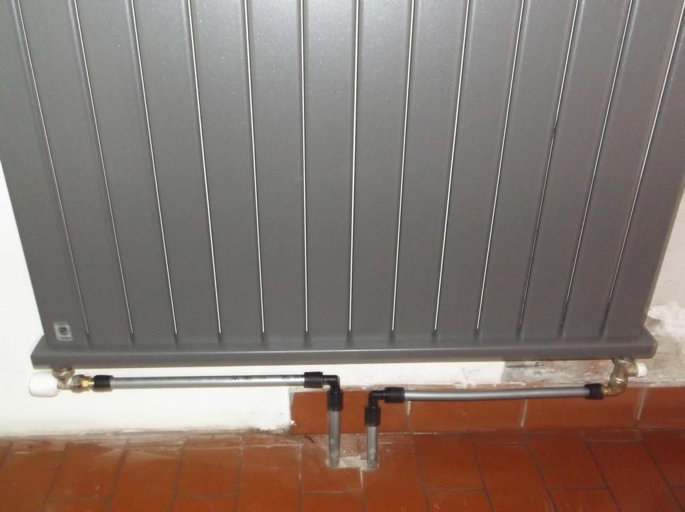 Нижнее подключение радиатора отопления