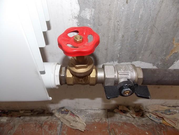 Регулировка радиатора отопления
