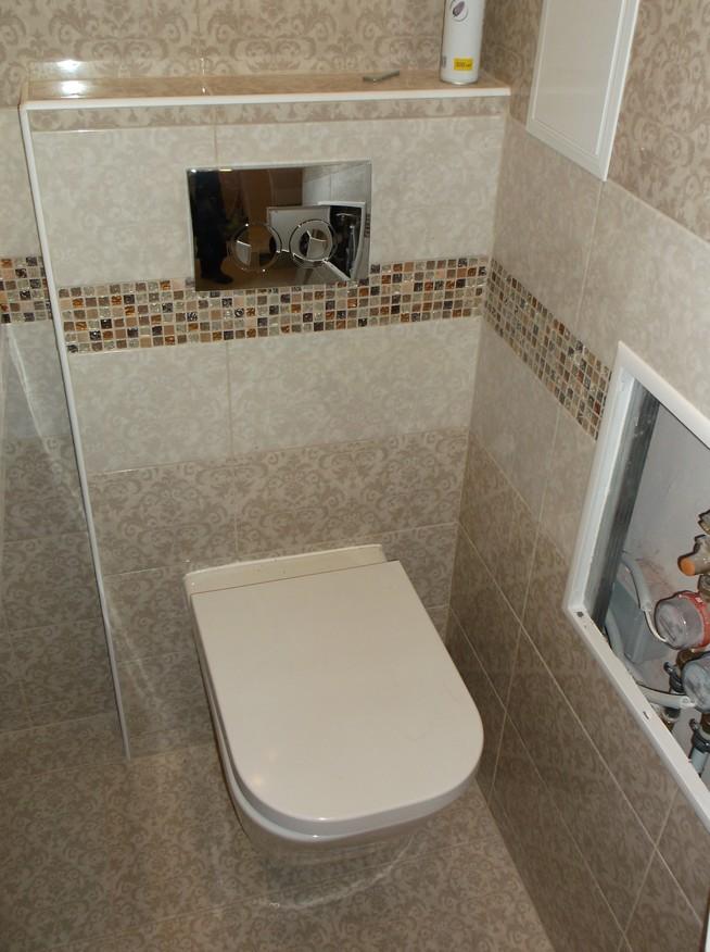 Качественная замена труб в ванной и в туалете