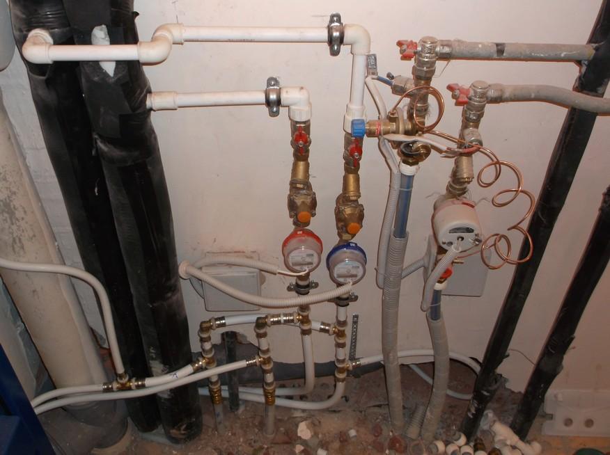 Установка счетчиков водоснабжения