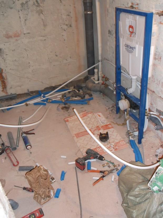 Замена труб в квартире на металлопластиковые