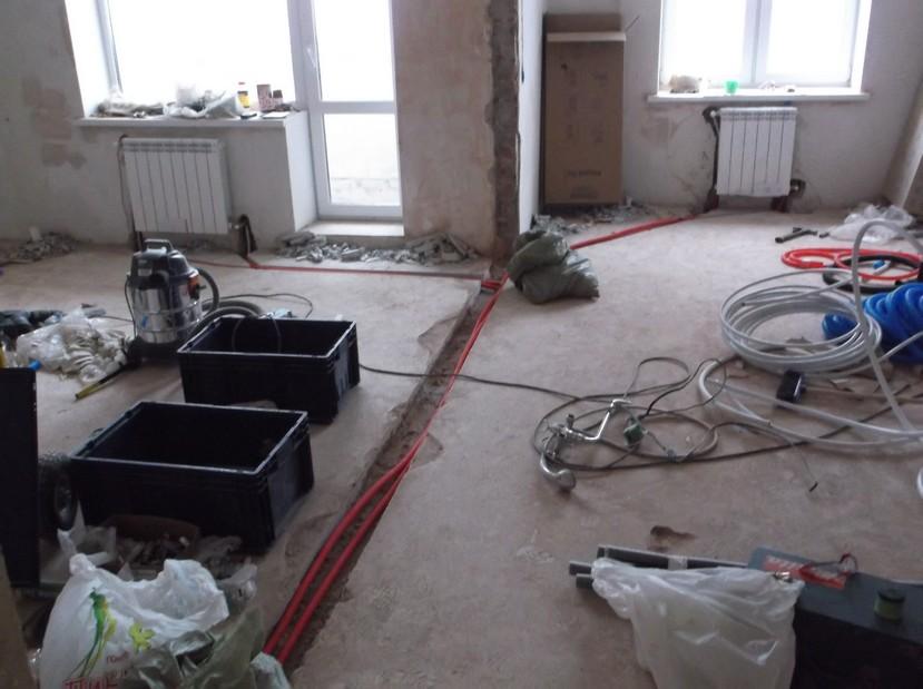 Установка радиаторов отопления в горизонтальной разводке труб