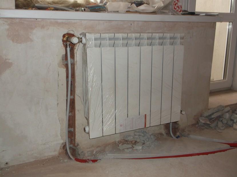 Алюминиевый радиатор отопления Torido S (Торидо С)