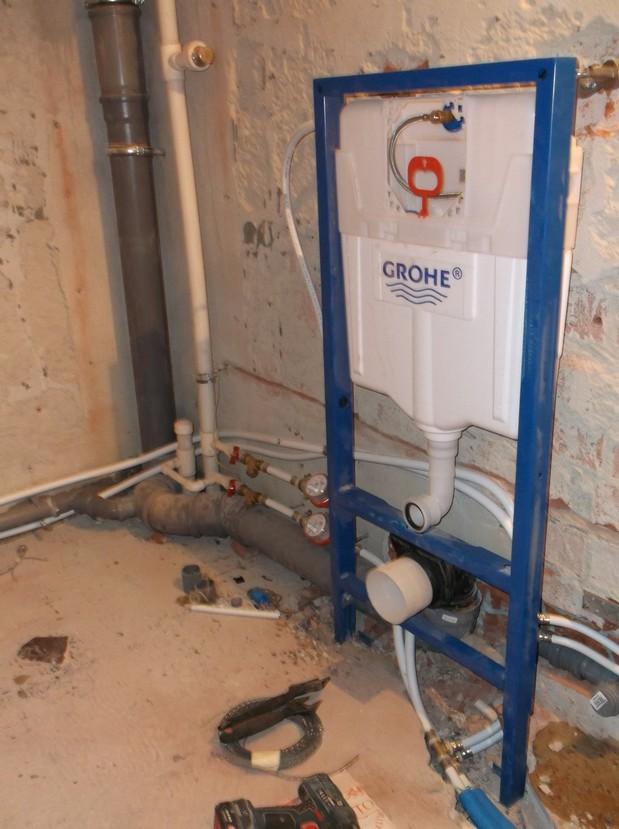 Установка счетчиков на воду в квартире