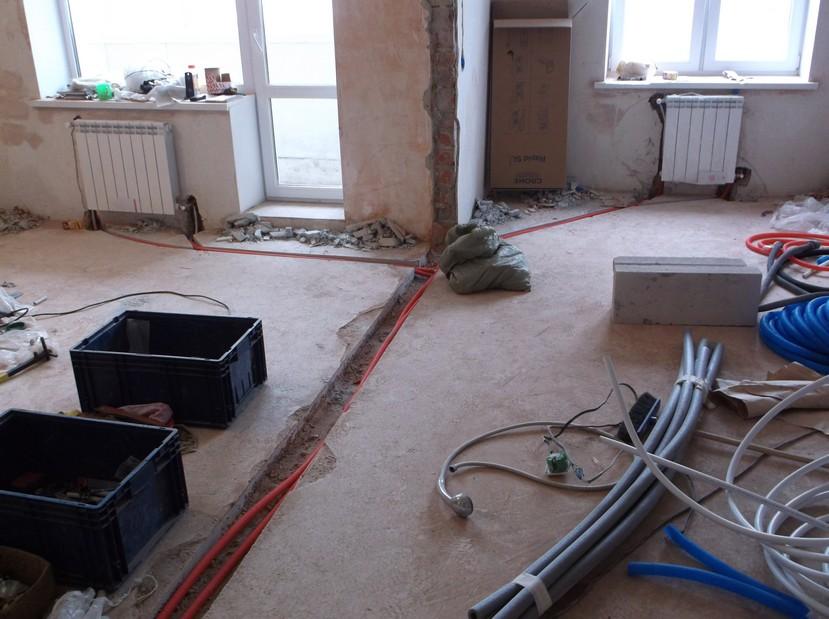 Установка радиаторов отопления в квартире Екатеринбург