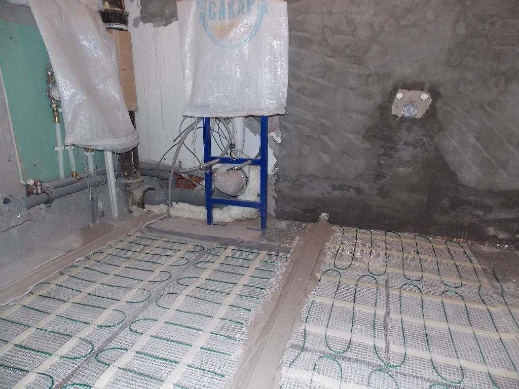 Электрические и водяные теплые полы